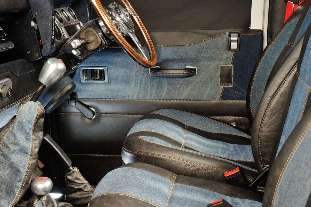Ruskin Design diesel jeans interior
